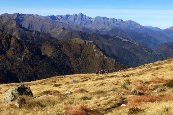 Autumn hiking in the Ariège Pyrenees